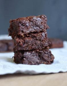 Vegan Zucchini Brownies-5