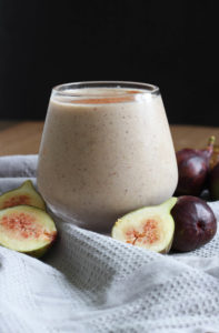 Fig and Tahini Smoothie-1