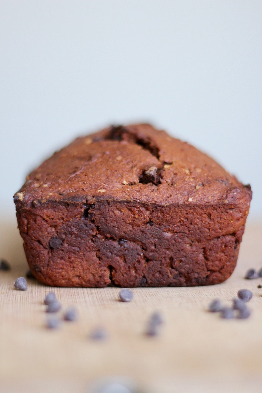 Vegan Spiced Pumpkin Chocolate Bread | The Conscientious Eater