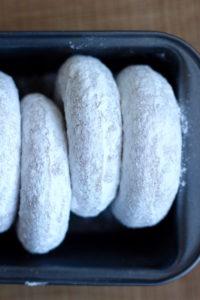 Baked Vegan Powdered Doughnuts 2