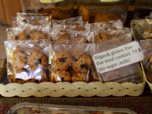 Blue Diamond Breakfast Club Vegan cookies chiang mai thailand