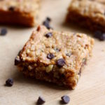 Gluten Free Peanut Butter Chocolate Chip Oatmeal Bars