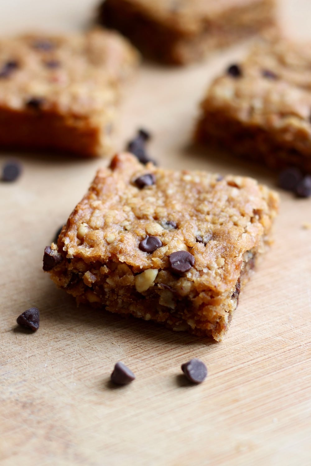 Gluten Free Peanut Butter Chocolate Chip Oatmeal Bars | The ...