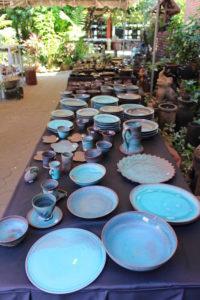 Mengrai Kiln pottery shops in Chiang Mai, Thailand