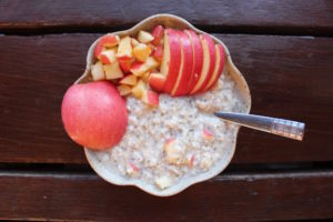 Oatmeal in Hotel Chiang Mai Thailand