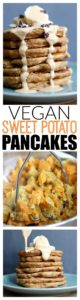 THE BEST Vegan Sweet Potato Pancakes! These healthy and hearty Vegan Sweet Potato Pancakes are worth the effort and make for delicious, simple breakfasts throughout the week!