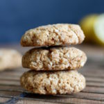 Vegan Lemon Coconut Cookies