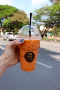 Vegan Thai Tea Chiang Mai Thailand