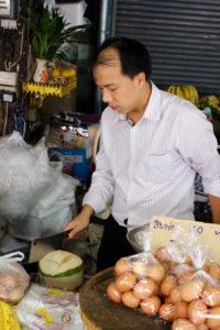 Young Thai Coconut Chiang Mai Thailand