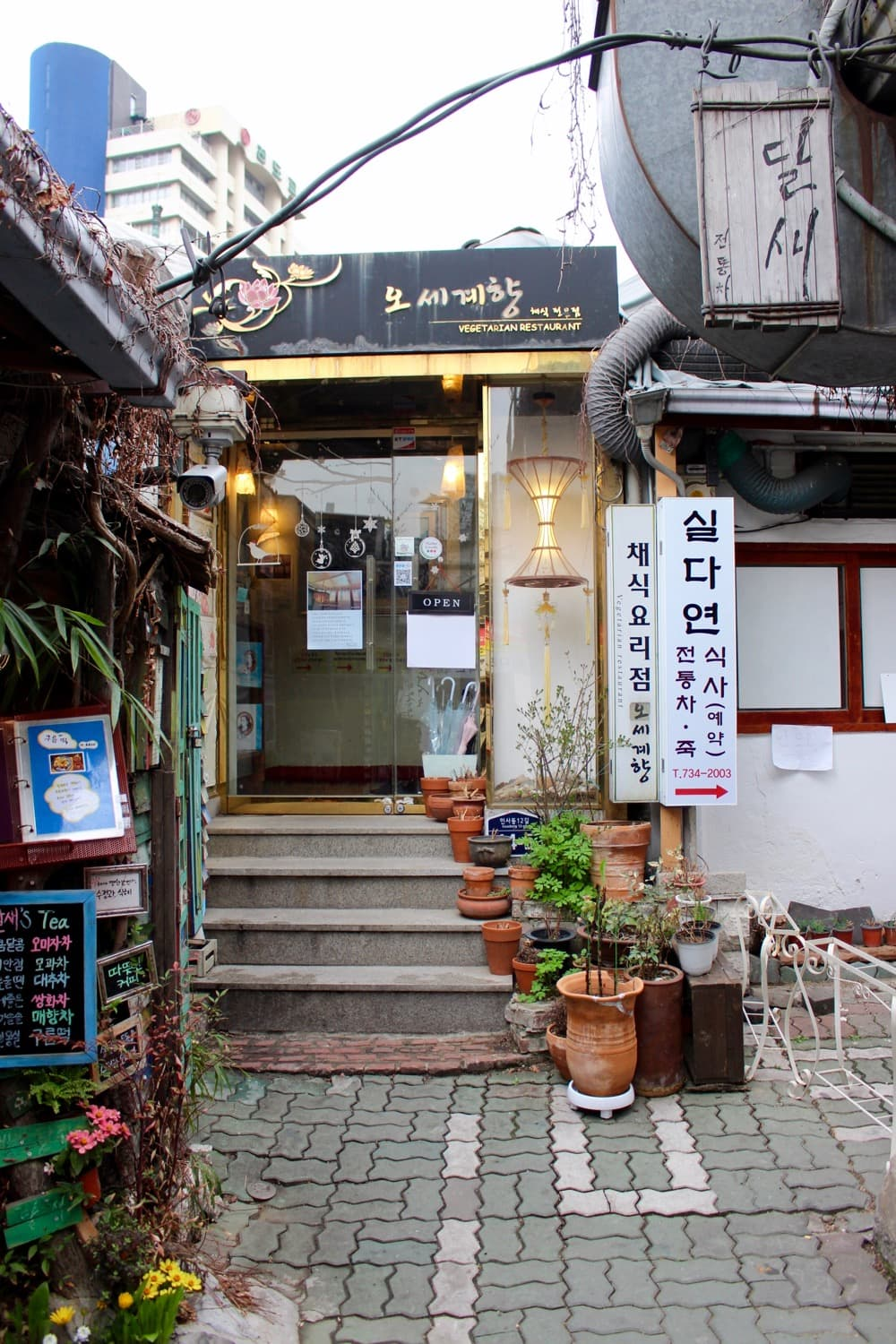 Seoul In Black And White: Vegan Restaurants In Seoul, Korea + Travel Recap