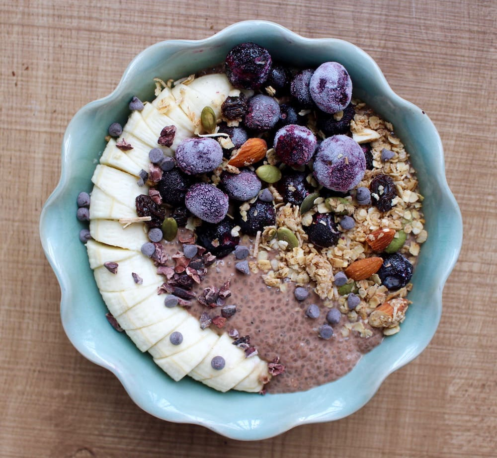 4 Ingredient Chocolate Chia Seed Pudding | The Conscientious Eater