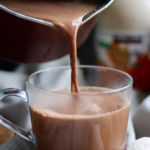 Homemade Cashew Milk Hot Chocolate
