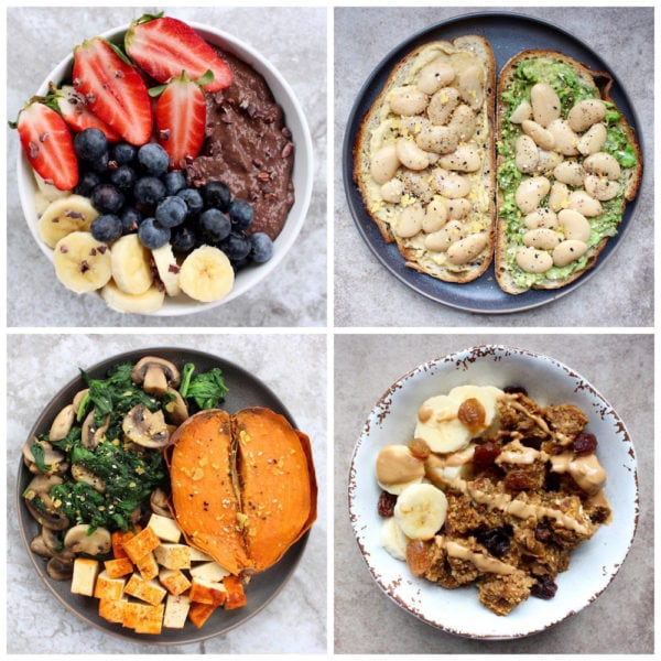 What I Ate This Week #2: Plant Based Meal Ideas