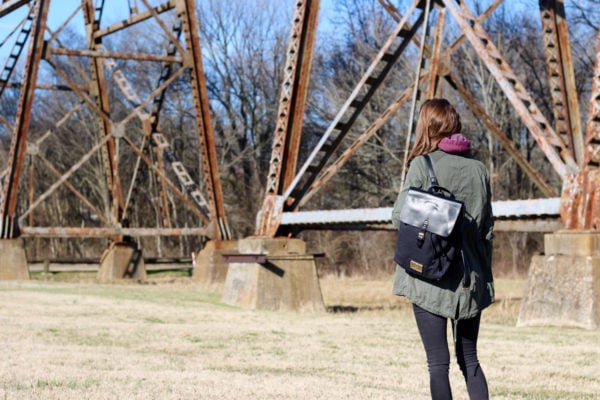 A Valentine's Day Walk + Vegan Backpacks