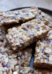 Homemade Vegan Lactation Bars