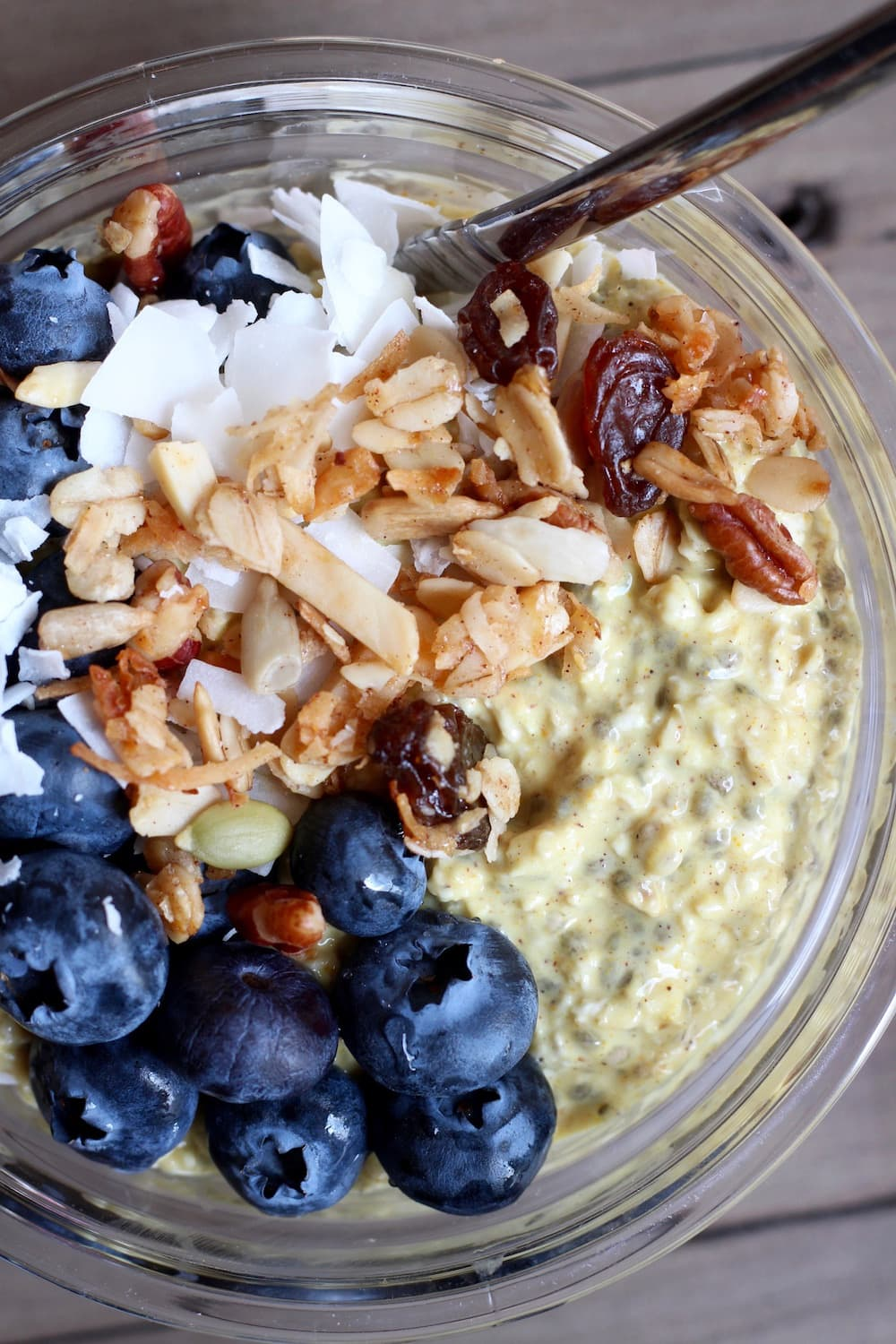 vegan golden milk overnight oats the conscientious eater. Black Bedroom Furniture Sets. Home Design Ideas