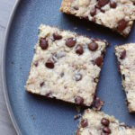 Gluten Free Vegan Chocolate Chip Oatmeal Blondies