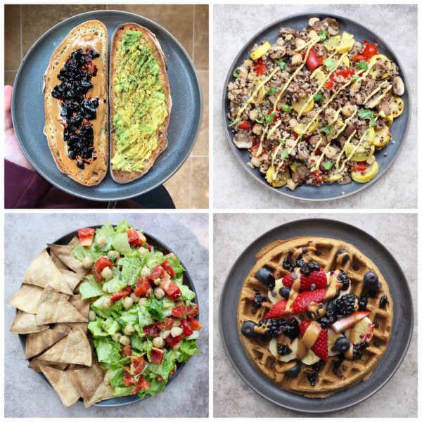 What I Ate This Week #14: Plant Based Meal Ideas