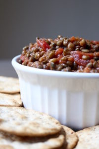 2 Ingredient Trader Joe's Lentil Bruschetta Dip