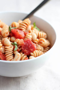 Easy Italian White Bean Pasta Salad