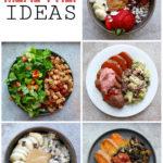 What I Ate This Week: Vegan Meal Prep Ideas