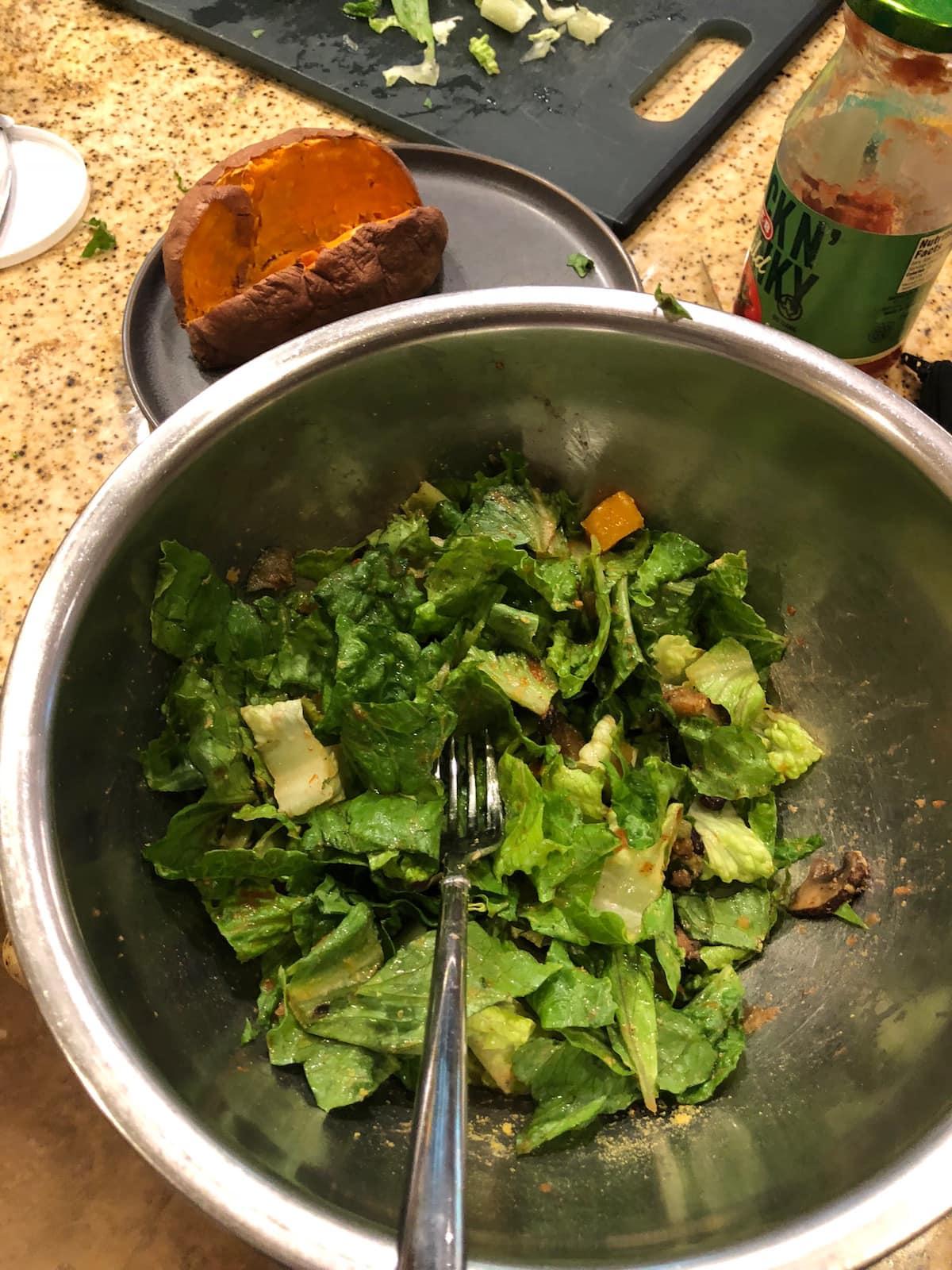 Vegan Meal Prep Ideas baked sweet potatoes