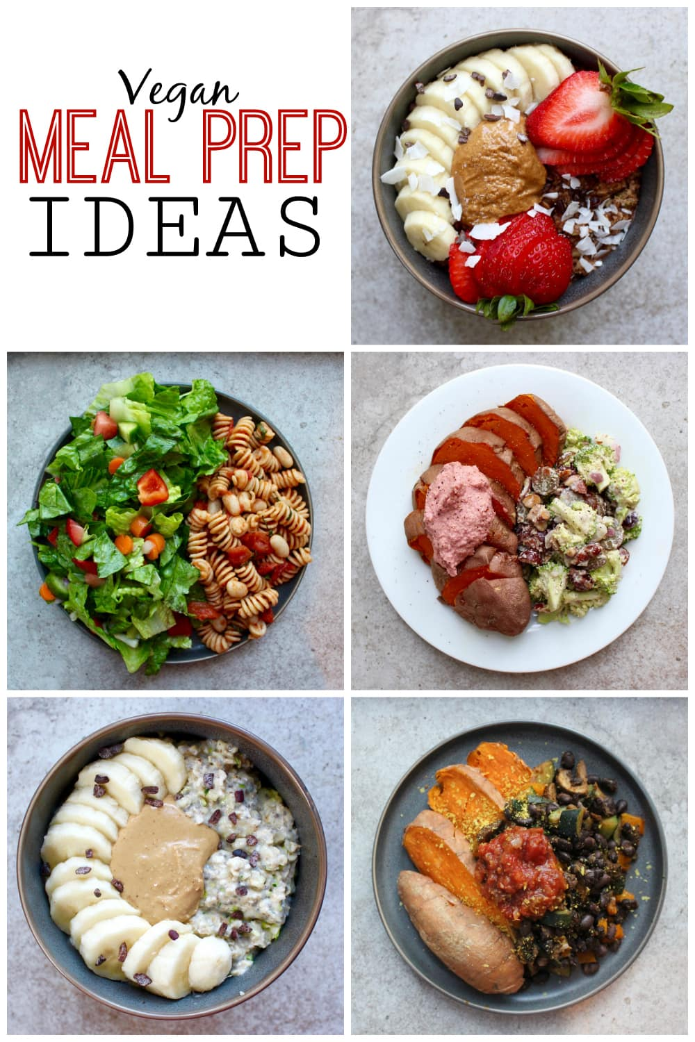 Bedwelming What I Ate This Week: Vegan Meal Prep Ideas | The Conscientious Eater @IQ16