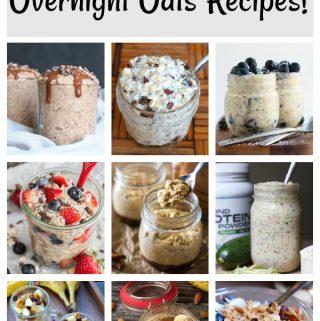 10 Vegan Overnight Oats Recipes