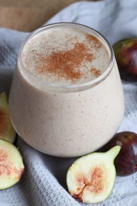 Fig and Tahini Smoothie