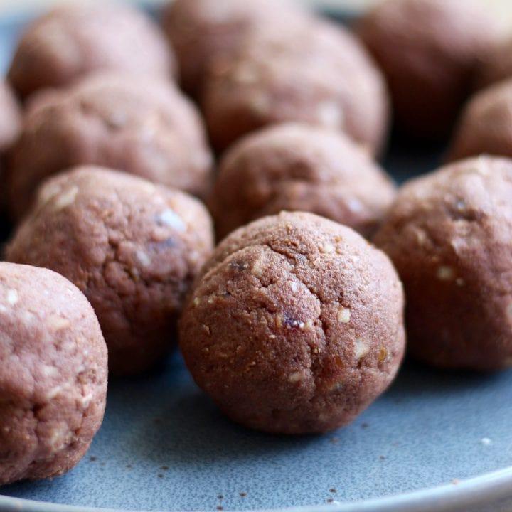 Almond Pulp Freezer Brownie Bites Recipe