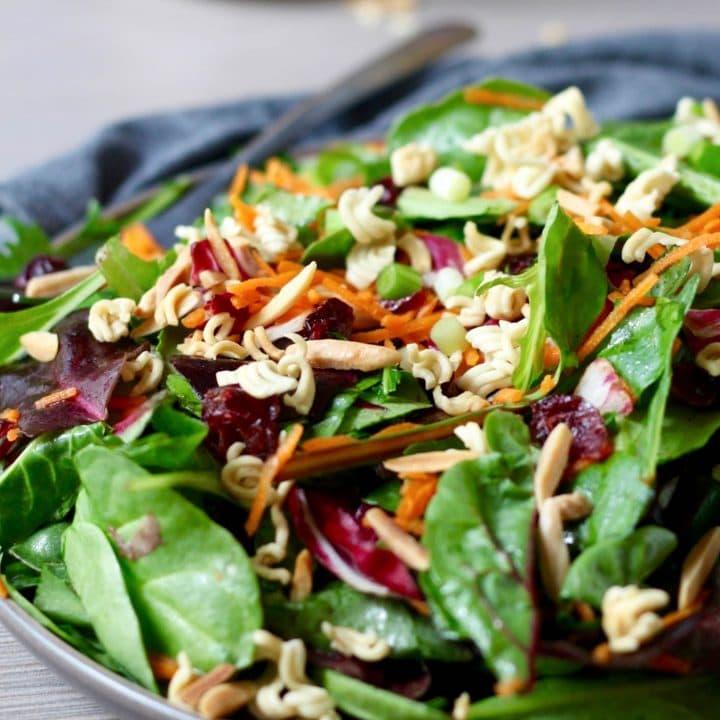 Crunchy Ramen Noodle Salad Topping