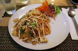 Taste of Heaven vegan pad thai, Chiang Mai Thailand