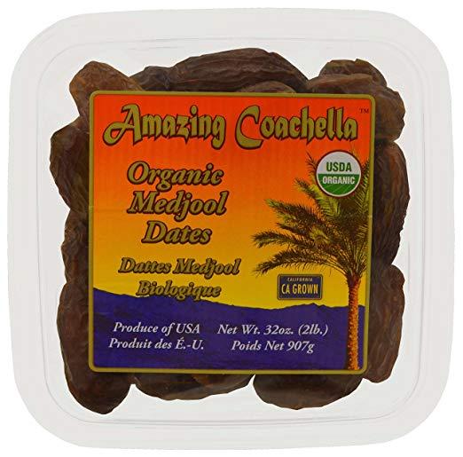 Amazing Coachella Organic Medjool Dates