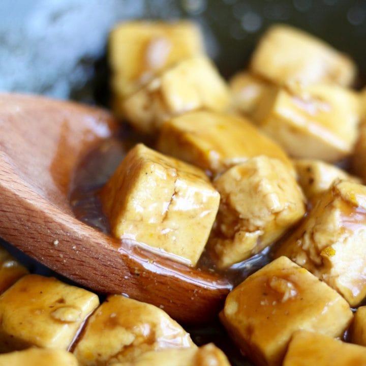 Easy Vegan Orange Tofu Recipe