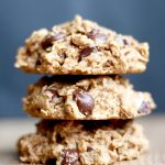 Peanut Butter Oatmeal Chocolate Chip Cookies (Vegan + GF)