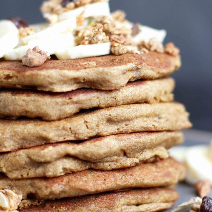 Vegan Gluten Free Banana Pancakes