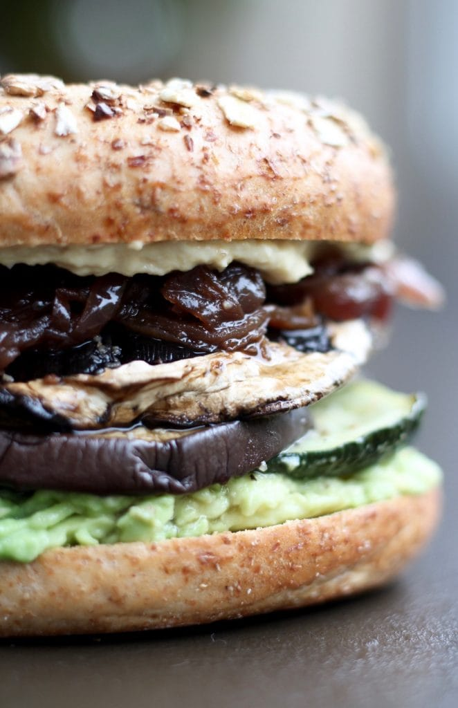 the best vegan savory breakfast sandwich