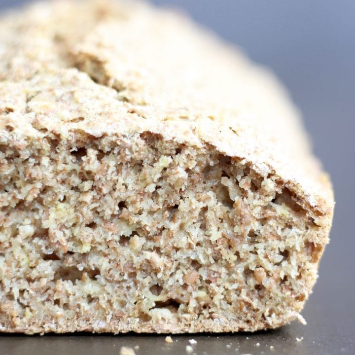 Traditional Irish Brown Bread Recipe (Egg and Dairy Free)