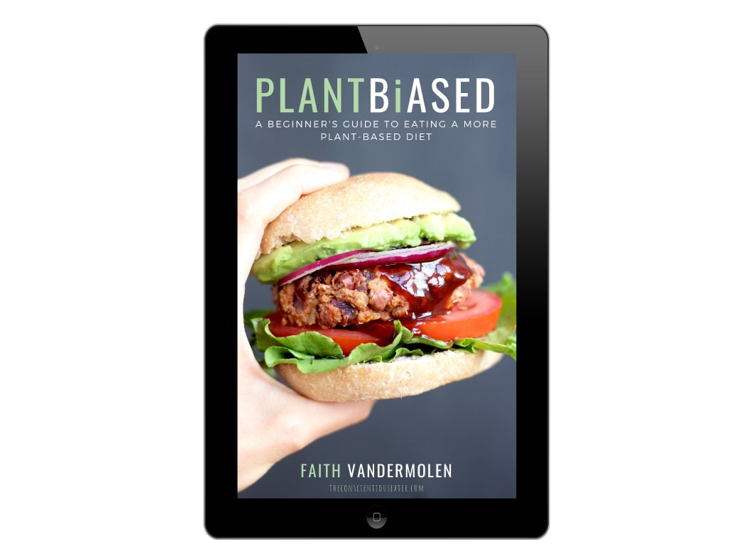 PLANT BiASED - a beginner's guide to eating a more plant-based diet