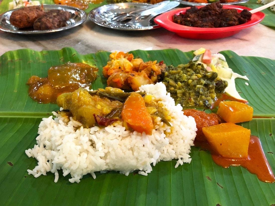 banana leaf indian food kuala lumpur
