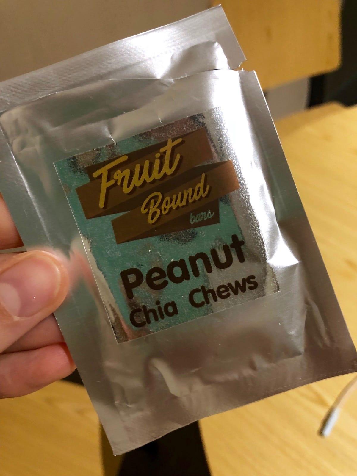 peanut butter date granola bar