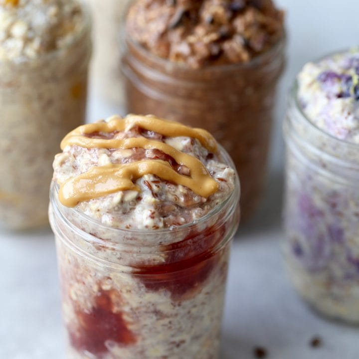 How to Meal Prep 5 Amazing Overnight Oat Jars