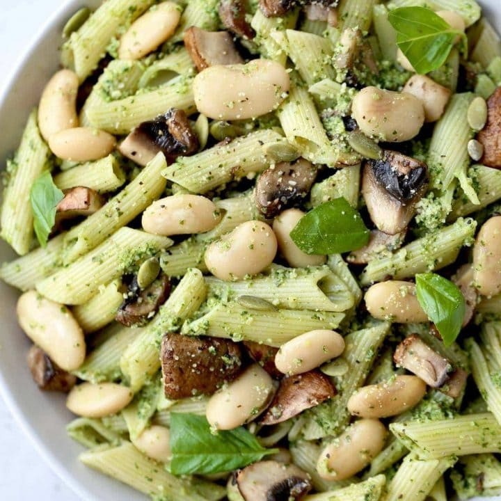 Vegan Pumpkin Seed Pesto