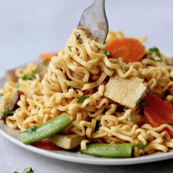 Quick and Easy Vegan Miso Noodles