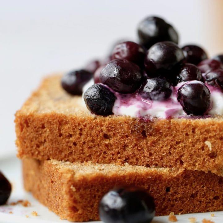 Whole Wheat Olive Oil Tea Cake (Vegan!)