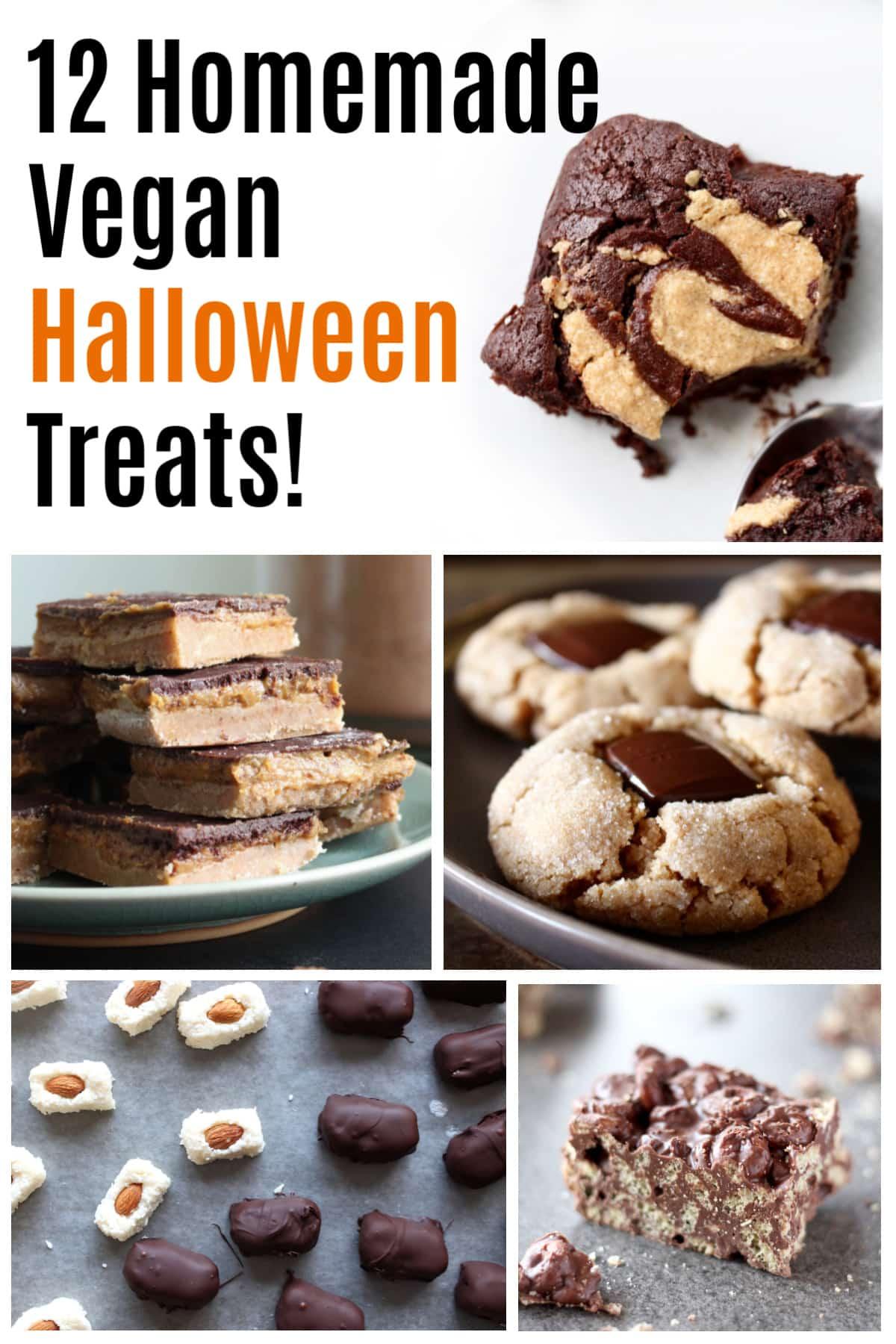 12 homemade Vegan Halloween recipes and treats!
