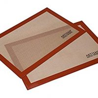 Artisan Silicone Baking Mat 16.5 x 11 inches, 2-Pack