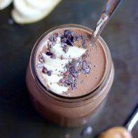 Chocolate Smoothie with Frozen Cauliflower
