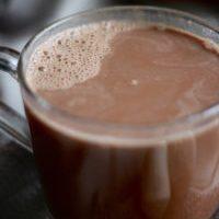 Homemade Cashew Milk Hot Chocolate