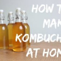How to Make Kombucha at Home {with Video Directions}